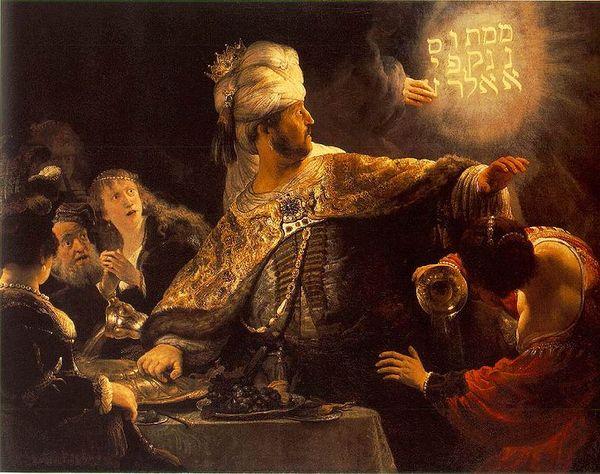 Rembrandtbelsazar